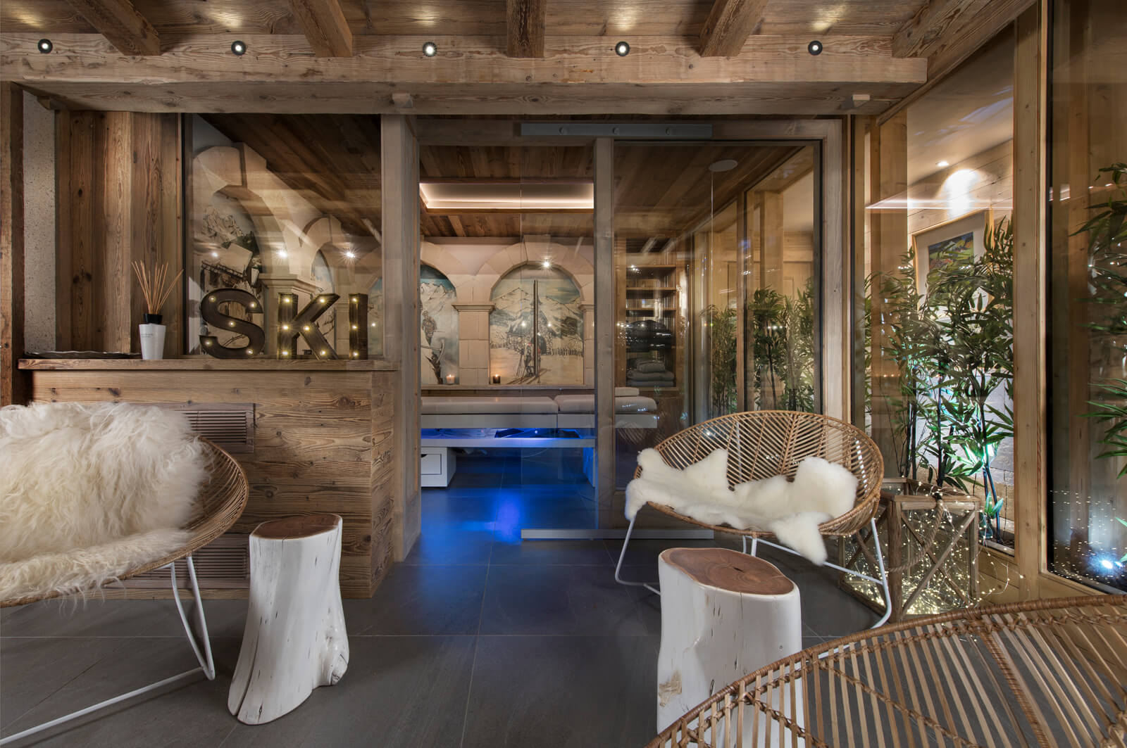 Luxury Ski-in Ski-out Chalet in Courchevel Village Image